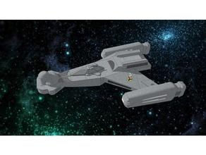klingon d5 1 1000 sculptures 1 1000 battlecruiser klingon klingon bird prey klingon raptor sketchup space spaceship star star trek