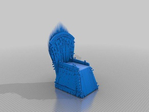 iron throne knife block kitchen dining 3d object 3d print 3d printer baratheon blade cersei chair fire gadget game gameofthrones games game thrones house baratheon house bolton house lannister house martell house stark house tyrell ice ice fire joffrey joffrey baratheon jon snow king kitchen gadget knives model models ned ned stark night king prince princess queen robb stark seat song songicefire steak sword thegameofthrones throne games white walkers