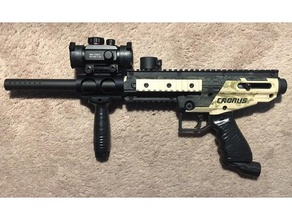 tippmann cronus barril mortalha esporte ao ar livre paintball arma de paintball marcador de paintball
