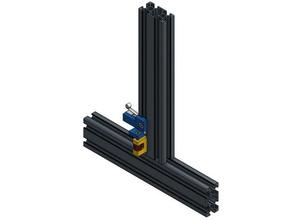 elva1 6 mm gap axle adjustable end stop 3d printer parts 20x20 profile 20x40 extrusion 20x40 profile 3030 extrusion 3d printer adjustable endstop gap 6 mm profile gap 6mm