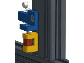 elva1 5 mm gap axle adjustable end stop 3d printer parts adjustable endstop 20x20 extrusion 20x20 profile 20x40 extrusion 20x40 profile 30x30 extrusion 3d printer gap 5 mm profile gap 5mm extrusion