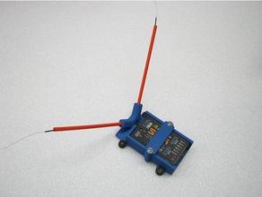 x8r s8r case antenna electronics antenna holder antenna mount frsky frsky antenna mount frsky s8r frsky x8r x8r receiver mount