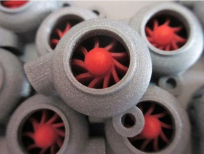 turbine keychain keychains car elica engine gadget helix jet keyring nitro nsfw portachiavi propeller propulsion sports turbina turbo turbocompressor