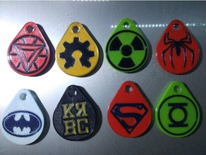 collection keychains logos super heroes collection keych dc dc comics dual keychain keychain dual keychains dual llavero dual llaveros llaveros dual llaveros superheroes marvel comics marvel universe quadcopter trousseau double