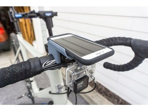 iphone 7 smart battery case Fahrrad LENKER Halterung gopro mount sport im freien iphone7