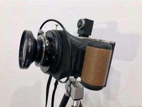 6&times12 agfa ansco plenax pd 16 camera conversion 120mm 120 film 616 6x12 6x12 camera kodak 616 medium format panoramic camera wide