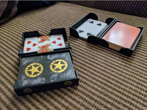 card case linkable tray system toys games cards card tray card trays game cards playing cards playing card box playing card carrier playing card case playing card holder playing card tray uno