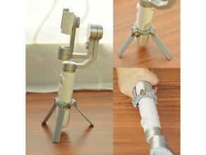 stand de trépied xiaomi mijia3 axe de poche cardan stabilisateur outils de la caméra mobile téléphone vidéo