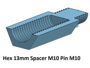 hex 13 spacer standoff 10 20 30 40 50 60 70 80 90 100 mm m10 pin m10 3d printer parts spacer 30 spacer 40 spacer 50 spacer 90 thread m10 spacer 20 spacer 60 spacer 70 spacer 80 hex standoff spacer 100