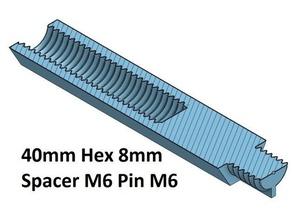 hex 8 spacer standoff 10 20 30 40 50 60 70 80 90 100 mm m6 pin m6 3d printer parts m6 spacer spacer 70 spacer 100 spacer 20 spacer 50 spacer 60 spacer 80 spacer 90 thread m6 hex 8 mm spacer 30 spacer 40