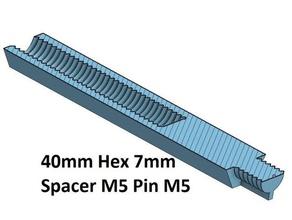hex 7 spacer standoff 10 20 30 40 50 60 70 80 90 100 mm m5 pin m5 3d printer parts spacer 100 spacer 40 hex 7 mm spacer 20 spacer 30 spacer 50 spacer 60 spacer 70 spacer 80 spacer 90 thread m5 m5 spacer