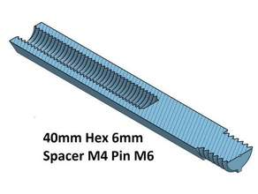 hex 6 spacer standoff 10 20 30 40 50 60 70 80 90 100 mm m4 pin m6 3d printer parts m4 spacer hex 6 mm spacer 100 spacer 20 spacer 30 spacer 40 spacer 50 spacer 60 spacer 70 spacer 80 spacer 90 thread m4 thread m6