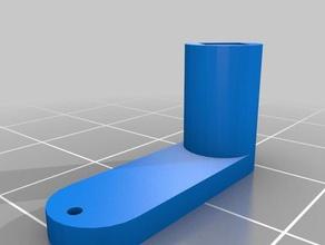 eflite convergenza supporto motore leva di spinta r c i veicoli la convergenza eflite la leva mini convergenza motore push