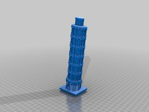 torre di pisa sculture