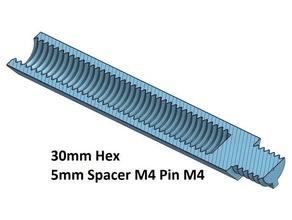 hex 5 spacer standoff 10 20 30 40 50 60 70 80 90 100 mm m4 pin m4 3d printer parts spacer 20 hex 5 mm m4 spacer spacer 100 spacer 30 spacer 40 spacer 50 spacer 60 spacer 70 spacer 80 spacer 90 thread m4