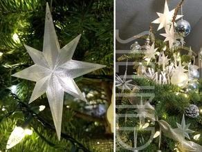 plana belén estrella de adorno decoración de navidad vacaciones