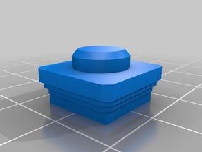 el capitel 1 pila cuadrada de 1x1 de la construcción juguetes
