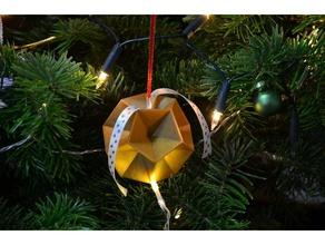 dodecadecor ornaments beardless millenial christmas christmas decoration christmas decorations christmas ornament christmas tree dodecahedron house household nsfw polyhedron winter