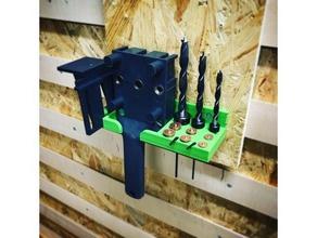 meisterd&uumlbler halter 3d printing halterung jig tool holder wolfcraft woodworking