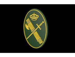la guardia civil logotipo signos logotipos insignia espaa militar placa policia