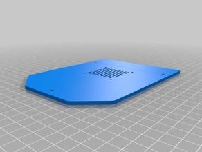 improved ender 4 motherboard case fan out 3d printers ender4 motherboard fan cover motherboard mount