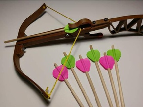 mini Armbrustbolzen Befiederung Schimmel mechanisch ist Spielzeug