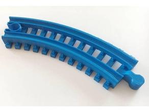 brio curve 45deg swell left right 3d printer parts brio swell brio compatible brio train track train track brio toy