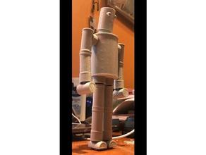 andy buckrams teneke adam 3d baskı 3d baskı aksiyon figürü kol mafsallı topu ortak vücut çocuklar çocuk kitapları özelleştirilebilir ayak elleri baş bacaklar posable robot basit oyuncak
