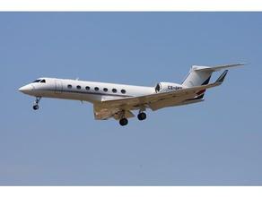 a gulfstream g550 veículos de avião business jet