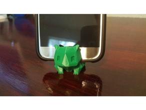 bulbasaur soporte de teléfono ajustado móvil android bulbasaur de pie bulbusaur verde iphone clave de la cadena anillo de claves llavero llavero baja poli pokemon pokemon ir pokemon llavero pokemon soporte de teléfono pokemon stand teléfono inteligente smartphone