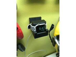apple watch wall dock organization charger wall mount