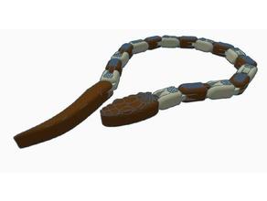 belden yılan çift ekstruzyon hayvanlar çift alanında flexi esnek polymathic baskı yer iki renk