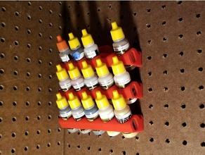ammo organization ammo mig mig paint model paint model painting model paint holder model tank paint organizer paint rack pegboard pegboard mount pegboard paint pegboard paint rack vallejo vallejo model air vallejo paint