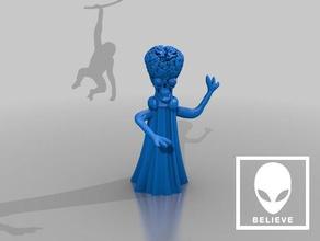 mars attacks alien creature ad ad ad ad ad sculptures