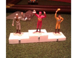 podium scalextric 132 toy game accessories 132 scale miniatures miniature scenery scalextrics scale model slotcar 132 slot car