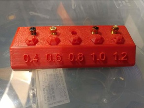 e3d vulcano porta ugelli la stampante accessori