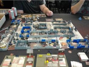 zombicide peste negra paredes de las habitaciones juegos terreno wargaming terreno