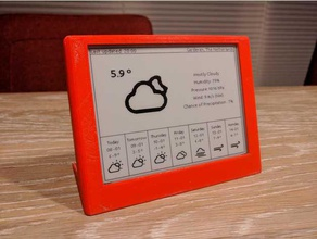 esp32 epaper weatherdisplay - Elektronik arduino Fall esp-idf das Internet der Dinge low-power