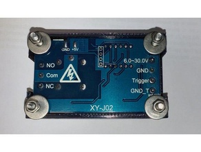 case delay timer relay module housing tools 1 channel relay 1 channel relay mount 7 seg 7 segment 7 segment display button buttons controller cover delayer delayer clip diy electronics electronics enclosure protect protective protector relay board relay board mount relay box relay case timed