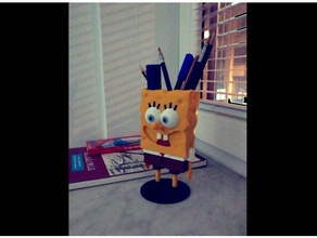spongebob squarepants figure pencil holder household 3d spongebob cartoon cartoons cartoon character cartoon spongebob pencil pencil case pencil cup pencil holder spongebob spongebob squarepants squarepants