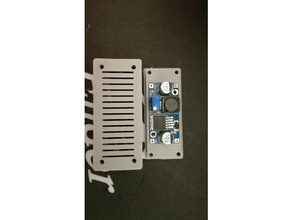 box lm-2596 dc-dc adjustable step-down module 3d printing 2596 box 2596 case lm 2596 lm-2596-box lm2596 lm2596s dc-dc lm2596 mount stepdown stepdown case stepdown module
