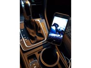 quad lock vw golf 7 móvil teléfono android titular iphone el monte soporte para teléfono teléfono de montaje soporte telefónico qlock4g7 quadlock samsung volkswagen