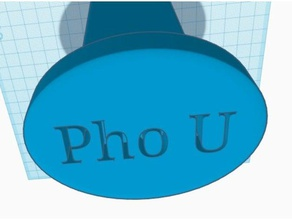 pho-u trailer hitch cover signs logos