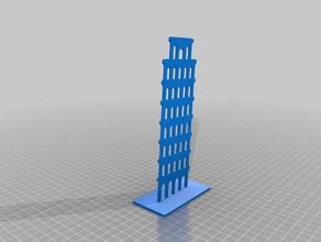 2d torre di pisa art 2d art gimbal italia torre pendente