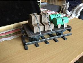 carro pianale 16mm scala giardino ferroviaria i veicoli 32mm 45mm lgb ferrovia modello modello ferroviaria modellini di treni openrailway sm32 sm45