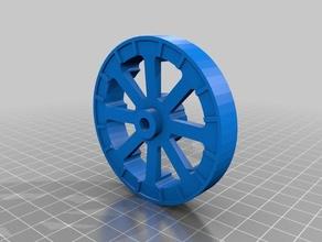 f4u corsair 70mm cubo de la rueda rc vehículos 3dlabprint