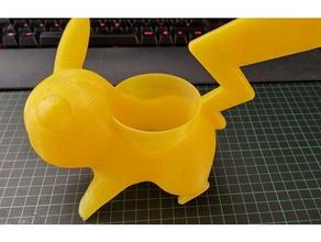 pikachu maceta 65mm diámetro interior al aire libre jardín planta de maceta pokemon plantas pequeñas