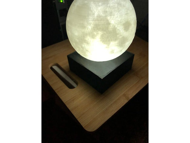 moon lamp base decor