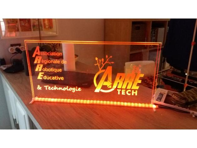 support plaque 600x300x3-