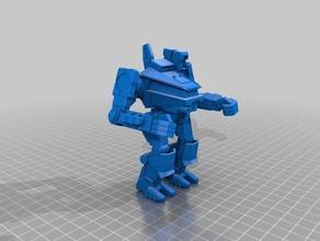 pul-2v pulverizer games 10mm battletech mech mecha mwo robot